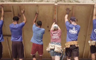 IMG Academy House Build