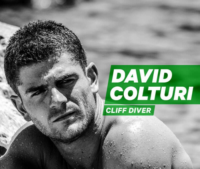 On the Very Edge with Cliff Diver David Colturi