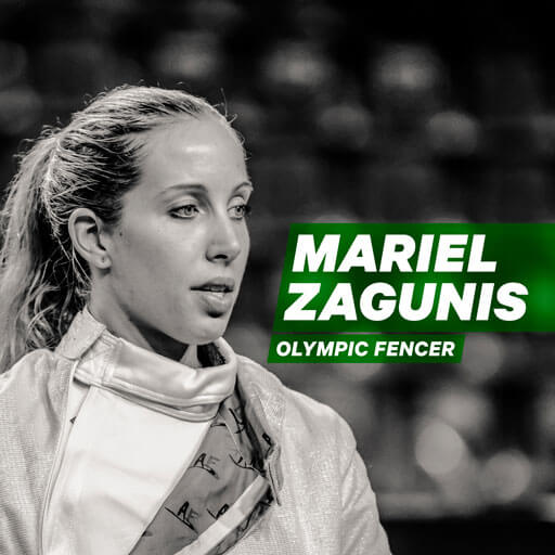 Breaking the 100 Year Gold Medal Drought in Fencing: Mariel Zagunis Shares the Underdog Victory that made History